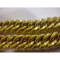 Cordão Grumete Triplo Em Ouro 18 K 750, Maciço