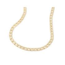 Corrente Masculina Diamantada Rommanel Folheado Ouro 18k