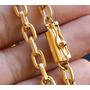 Cordão Banhado A Ouro 70 Centimetros + Pulseira