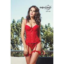 Corpete/corset/espartilho Beijo Roubado Mp484 - Sexshop Roma
