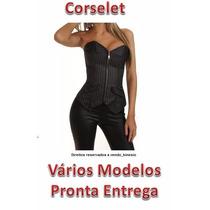 Corset Corselet Corpete - Pronta Entrega Frete Gratis