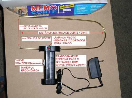 Cortador De Isopor© Semi-profissional Memotronics 110 /220 V