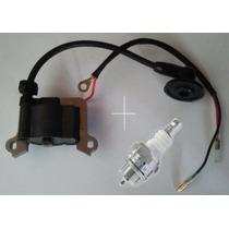 Bobina Ignição Roçadeira Gasolina Stomp 52cc + Vela Brinde