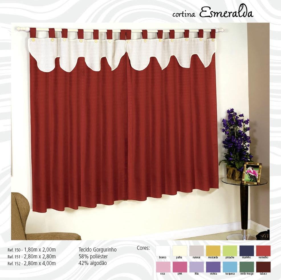 Cortina para quarto com bando obtenha uma - Bandos para cortinas ...