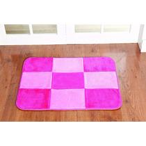 Tapete Patchwork P/ Quarto De Menina 0,68cmx0,48 Rosa E Pink