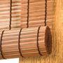 Cortina Persiana Roll Up Euroflex Bambu - Bamboo Mista