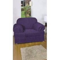 Capa Para Sofa 1 Lugar 21 Elasticos - Nanda Enxovais