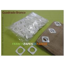 Ilhós Plástico Para Cortinas Ilhoses Quadrado Redondo 100un
