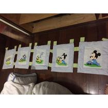 Barrado De Cortina Do Mickey