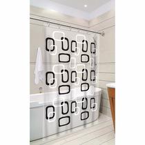 Cortina Para Box De Banheiro P/chuveiro De Pvc Resistente