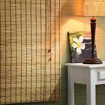 Cortina Rolo Bambu