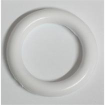 Kit Argola Plastica 28mm P/cortinas Branca + 100 Ganchos