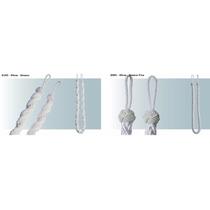 Abraçadeira Corda + Abraçadeira Cabide P/cortinas - 01 Par