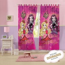 Cortina Infantil 300x220 Cm Com Ever After High