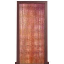 Cortina Plástica De Porta Lisa 0,82 X 2,10m Cortina Plástica