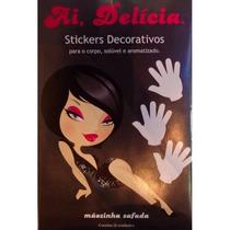 Sticker Adesivo Comestível Ai, Delícia Mãozinha Safada Eróti