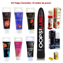 Kit Lubrificante Sexo Anal Vaginal Oral
