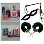 Kit Erótico- 20 Produtos+mascara E Chicote+ Algemas+bolsa