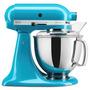 Batedeira Stand Mixer Kitchenaid 10 Velocidades Azul Cristal