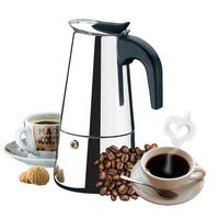 Cafeteira Italiana Em Inox Para 9 Cafés 450ml Melhor Preço !