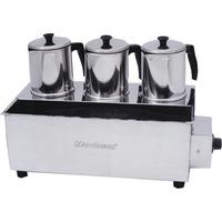 Cafeteira Profissional Esterilizador Com 3 Bules/ Termostato