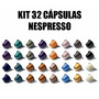 Kit 32 Cápsulas Nespresso Expresso - Welcome Set - Original