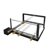 Giragrill Churrasqueira Regulável Kit Pro 5 R - 5 Espetos