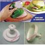 Modelador E Prensador De Hamburguer-mini Pizza-esfiha-pastel