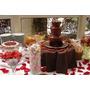 Fonte Cascata De Chocolate Torre Com 3 Andares - 220v