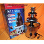 Fonte Cascata De Chocolate Torre Com 3 Andares - Inox