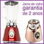 Liquidificador Retrô Clássico Oster, Jarra De Vidro - 600w!!