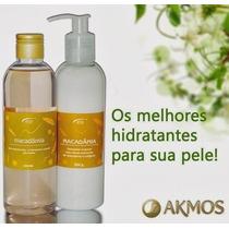 Kit Hidratante Corporal + Óleo Perfumado Pós Banho Akmos