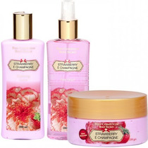 Kit Bien Strawberry E Champagne Secret 3 Produtos.