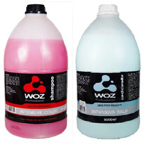 Shampoo Intensive Color Woz 5 L+condicionador-uso Profission