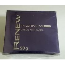 Renew Platinum 50g - 1 Creme Dia + 1 Creme Noite - Avon