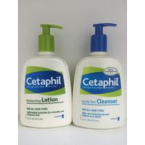 Cetaphil Loção Hidratante 473ml + Loção De Limpeza 473ml
