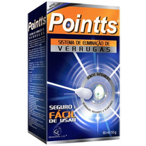 Pointts Antiverrugas Spray 80ml Verrugas - 12 Aplicações