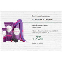 Kit De Natal Berry & Cream