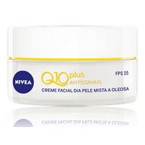 Creme Facial Nivea Q10 Antissinais Diurno Fps 15 Pele Oleosa