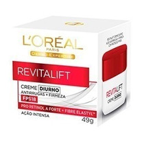 Revitalift Antirrugas + Firmeza Creme Diurno Fps18 Loréal