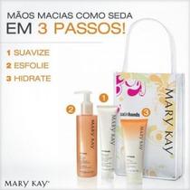 Kit Mãos De Seda Satin Hands® Pêssego Mary Kay