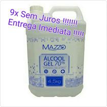 Álcool Gel 70 Antisséptico 5 Litros - Evite Gripe H1n1