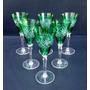 Lindo Conjunto De Taças Em Cristal Ricamente Lapidados