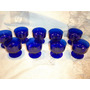 9 Taças De Cristal Para Sorvete - Sem Uso - 8,3 Cm De Altura