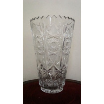 Raríssimo Vaso De Cristal Baccarat - Anos 50