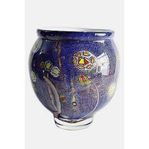 Vaso Decorativo Esilo Murano Colorido ( 10 )