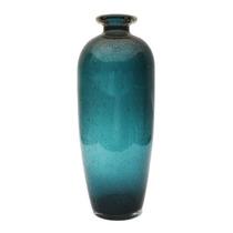 Vaso Garrafa Em Murano - Art Deco - 41cm