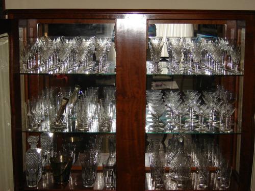 Cristaleira Antiga - Completa - Perfeita - Raridade