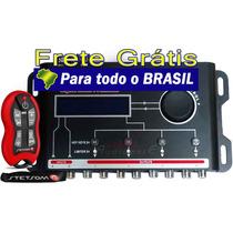 Processador De Áudio Stx-2448 + Controle Stetsom Sx2 + Frete