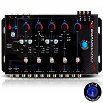 Crossover Digital Eletrônico Jfa De 5 Vias X5 Corte 24db/8ª